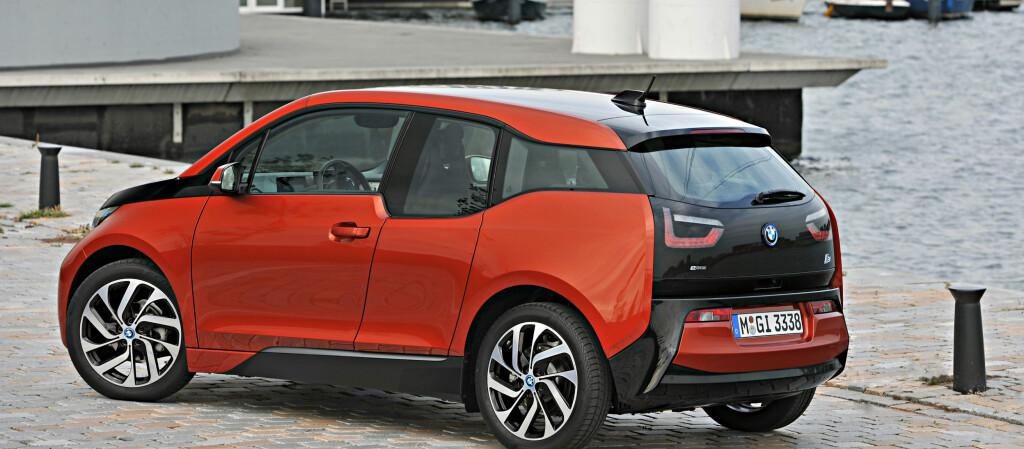 BMW i3 er en bil mange ønsker, men ikke alle får.  Foto: BMW