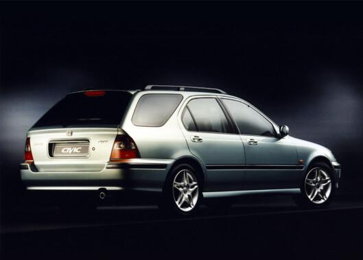 Honda Civic Aerodeck, 1998-modell Foto: Honda
