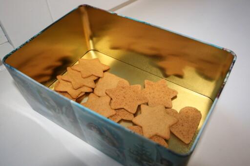 Smaksdommerne har ikke fått oppgitt navn og produsent på pepperkakene. Foto: Berit B. Njarga
