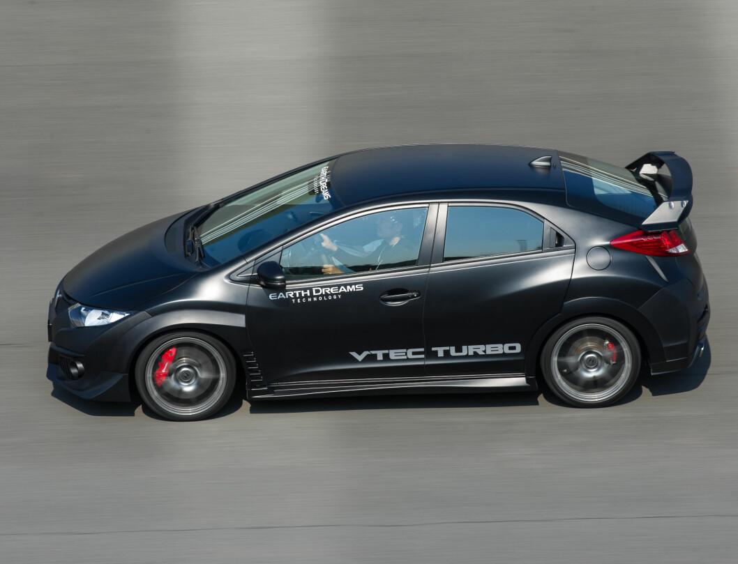I 2015 skal Honda lansere sitt nye råskinn, Civic Type R. DinSide Motor har allerede kjørt den.
