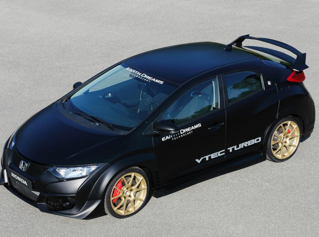 <strong>GROMBIL:</strong> Honda Civic Type R kommer i 2015. Foto: HONDA