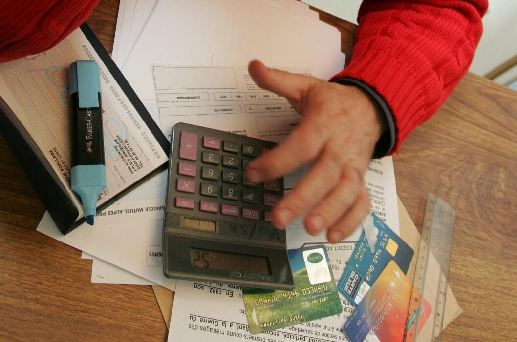 Nordmenn skylder 66,8 milliarder kroner til inkassoselskapene. Det er 13.360 kroner i snitt per person.  Foto: Colourbox