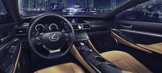 Lexus svarer BMW
