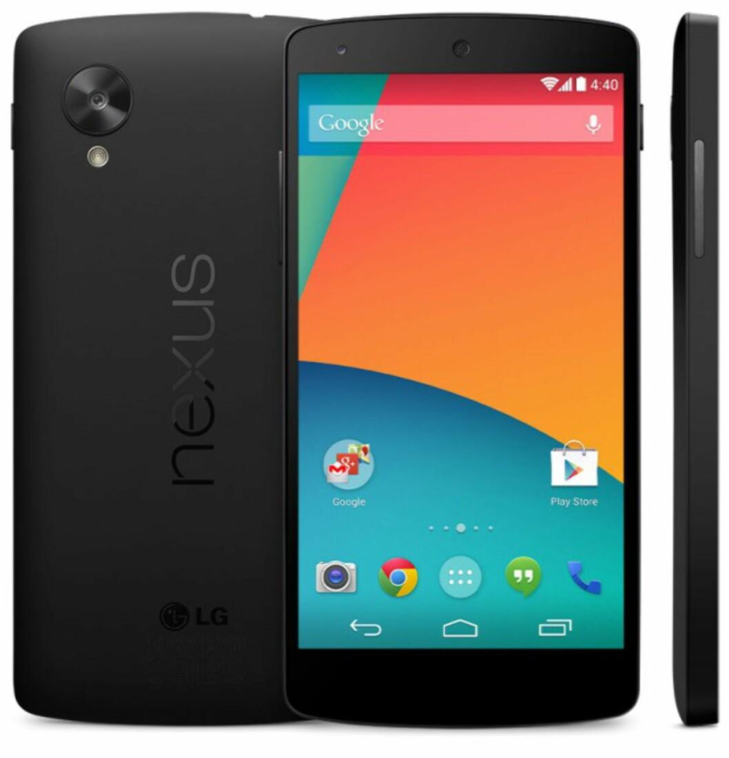 Offisiell: Nexus 5 og Android 4.4