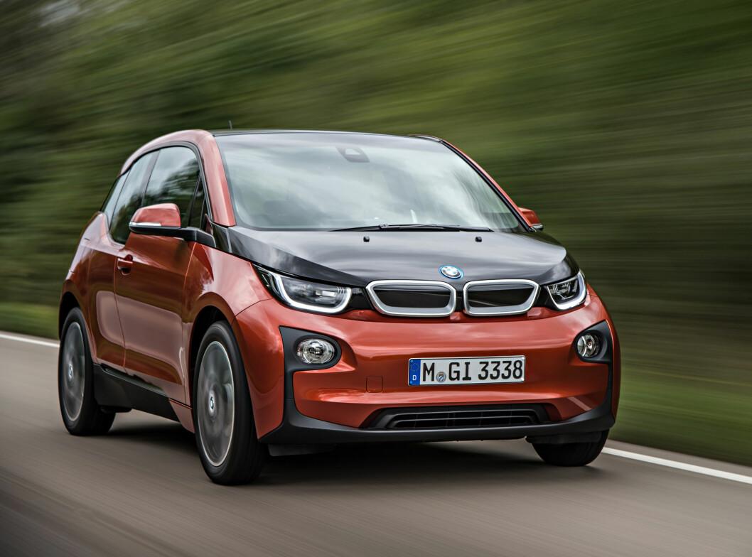 MENS VI VENTER PÅ...: Elbilbølgen tiltar og hundrevis av nordmenn står i kø for å kjøpe BMWs elbil - i3. Foto: BMW