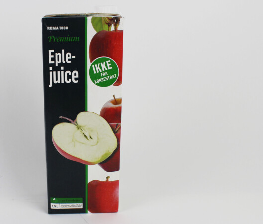 Den store eplejuice-testen