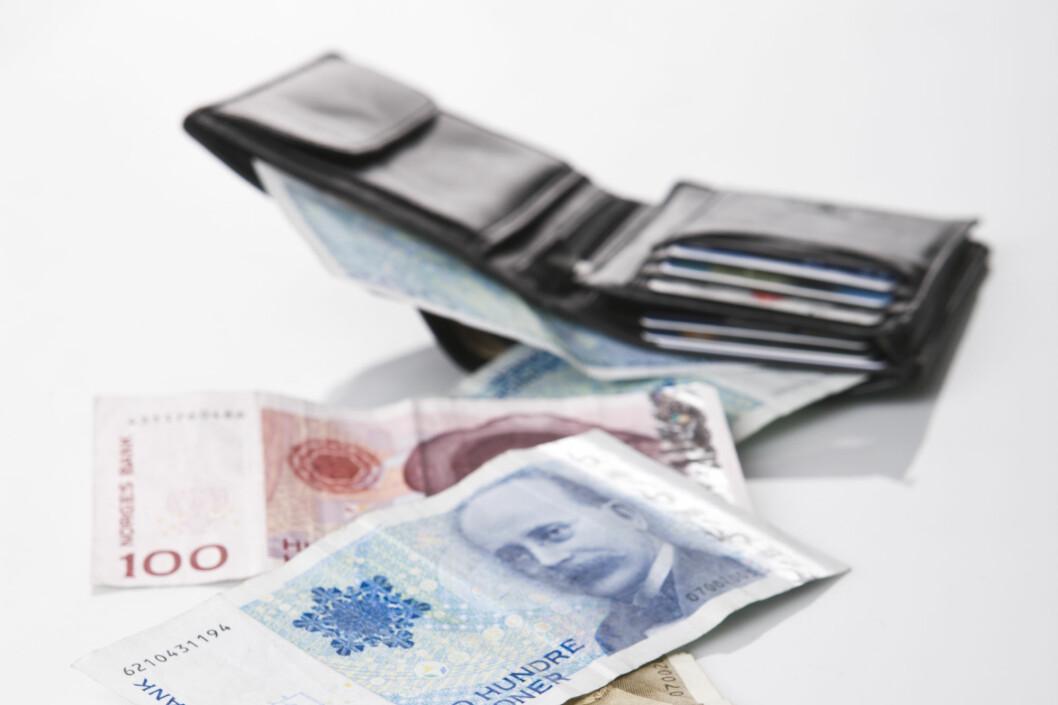 Per i dag er hver bankkundes innskudd garantert for opptil to millioner, men om noen år kan garantien bli langt lavere. Foto: COLOURBOX.COM