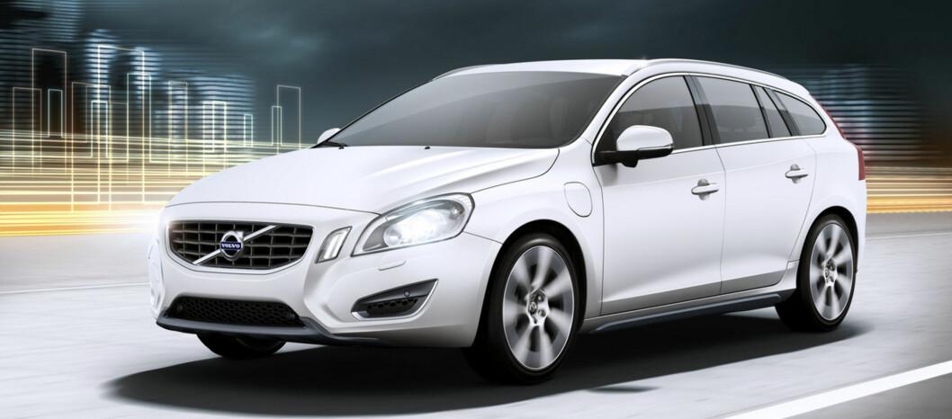 Volvo V60 Plug-in Hybrid fremstår som en av vinnerne i det nye budjsettforslaget.   Foto: Volvo