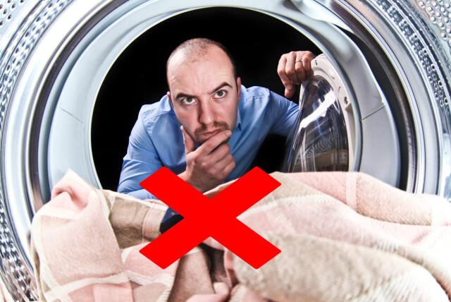 2066aa02 Dropp vaskeballen, bruk kammeret, da blir vaskemiddelet fordelt på best  mulig måte. Foto
