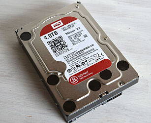 image: Western Digital Red 4TB