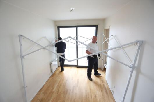 Strukturen er fleksibel, og kan til en viss grad tilpasses rommene. Foto:  Kaia Means/Anticimex
