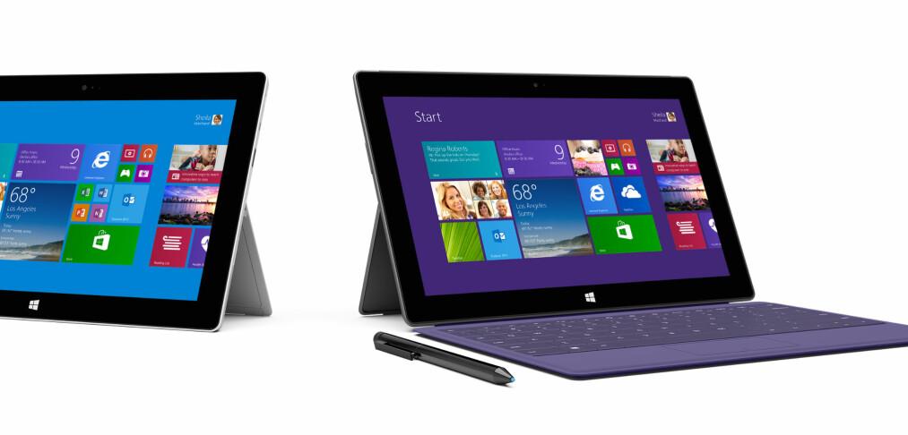 Microsoft lanserer nye Surface-nettbrett