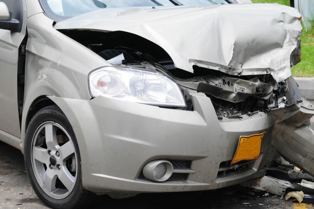 Får du en skade på bilen og trenger leiebil? Sjekk kaskoforsikringen din, <i>før</i> det skjer. Foto: ALL OVER PRESS