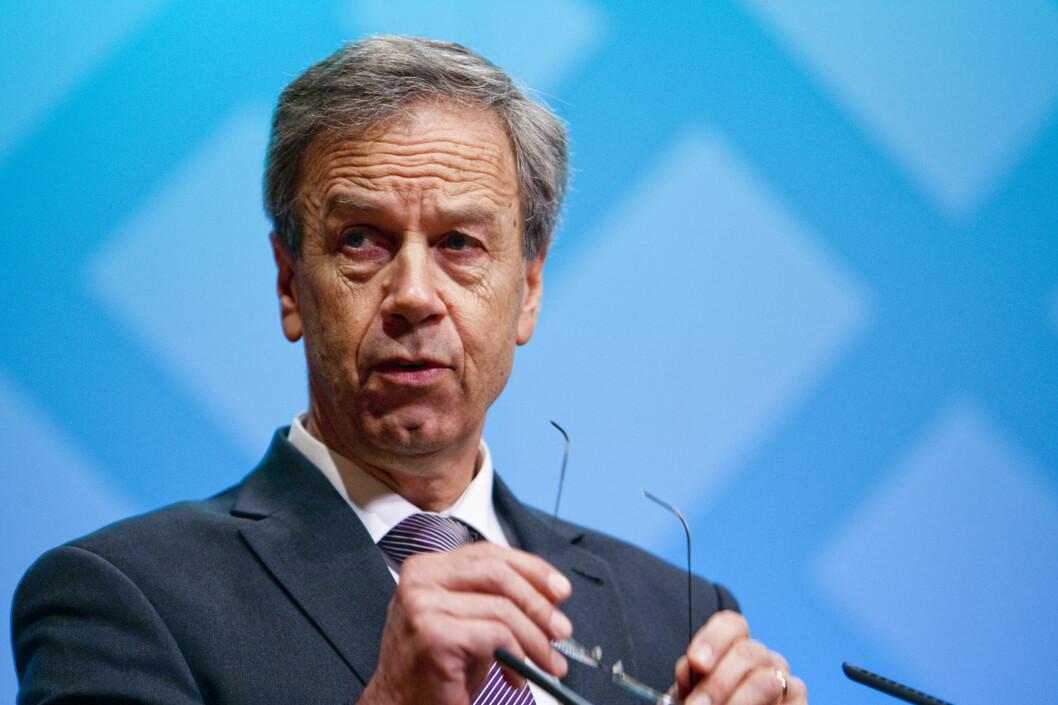 Norges Bank lar styringsrenten forbli uendret ved dagens rentemøte. Foto: PER ERVLAND