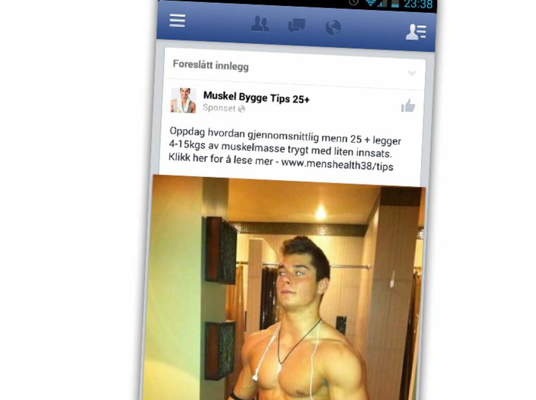 """Å bygge opptil 15 kilo med rene muskler krever ikke mye jobb ifølge """"Muskel Bygge Tips 25+""""."""
