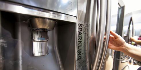 Nå får du boblevann fra kjøleskapet