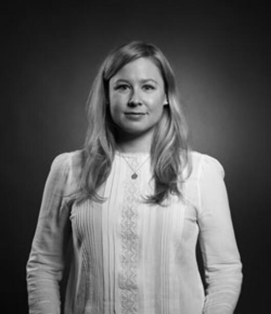 <strong>UENIG:</strong> Talsperson for Facebook, Frida Löwengren, mener annonsene utgjør en liten del av den totale mengden.  Foto: Northern Link PR