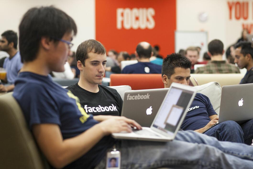 <strong>SVINDELARENA:</strong> Facebook har blitt en arena for svindlere og tvilsomme annonser. Ekspertene tror brukerne snart får nok.  Foto: Facebook
