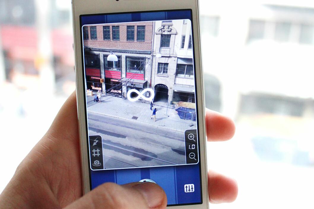 Med denne appen går du definitivt ikke glipp av fotoøyeblikkene. Foto: Kirsti Østvang
