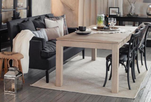 Stilig Sett sofaen til spisebordet - DinSide DK-79