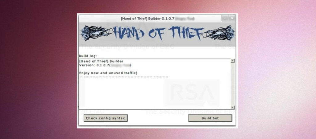 "Det er ikke bare Windows som rammes av virus og trojanere. Det er ""Hand of thief"" et bevis på."
