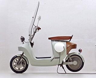 En elektrisk hamp-scooter