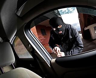 Tyveri fra bil: Enklere blir det ikke