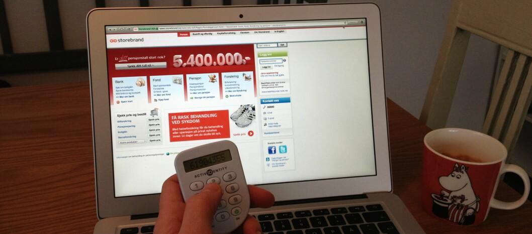 <strong><b>Bruk helgen:</strong> </b> Storebrand Bank anbefaler alle å ta en tur i nettbanken denne helgen.  Foto: TUVA MOFLAG