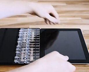 image: Lager orgel-deksel til iPad