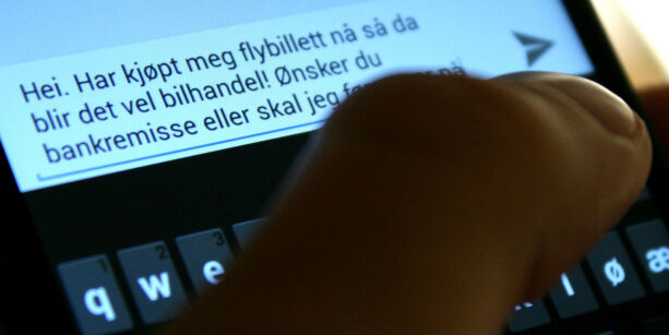 image: Én SMS kostet ham 35.000 kroner
