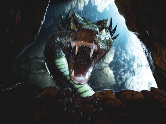 <strong>Denne møter du også:</strong> Midgardsormen. Foto: Tusenfryd