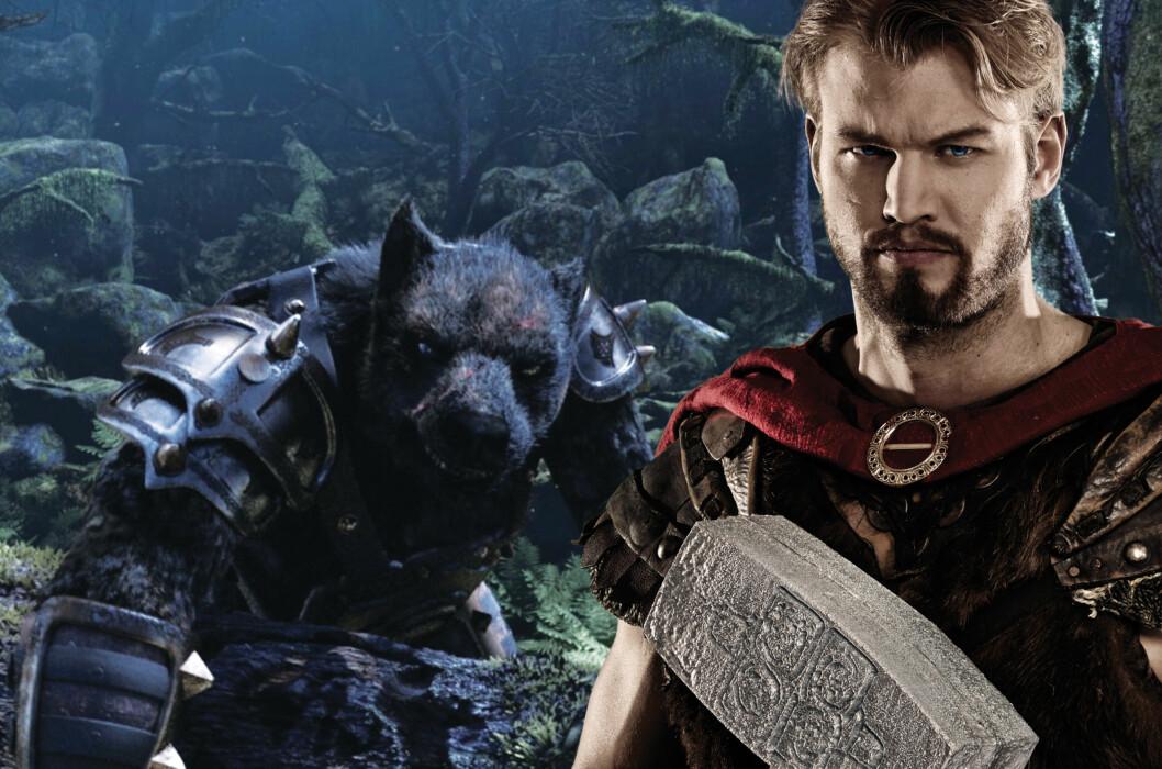 Thors Hammer er norrøn mytologi i 3D-format. Foto: Tusenfryd