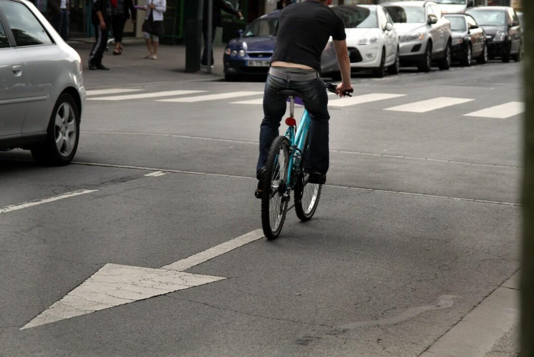 <strong><strong>IKKE PROVOSER UNØDVENDIG:</strong> </strong>Dette er noe syklistene må slutte med.  Foto: Colourbox.com