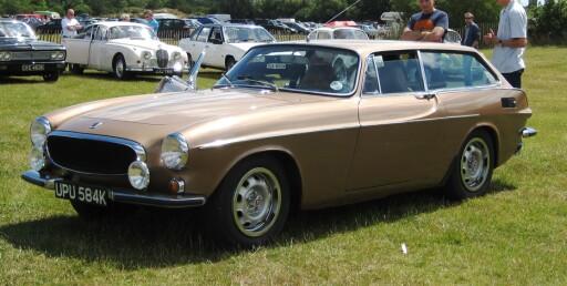 Ekte shooting brake: Volvo 1800ES fra 1971. Foto: Wikimedia Commons