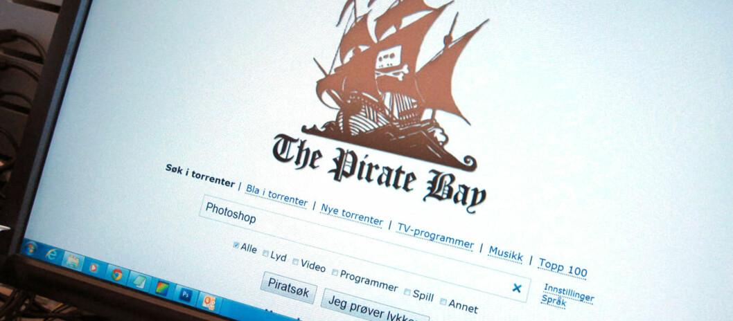 Snart kan nettsteder som dette bli stengt for norske internettbrukere.  Foto: Bjørn Eirik Loftås
