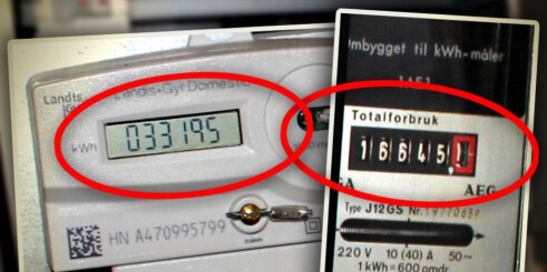 Leste av feil strøm i ti år