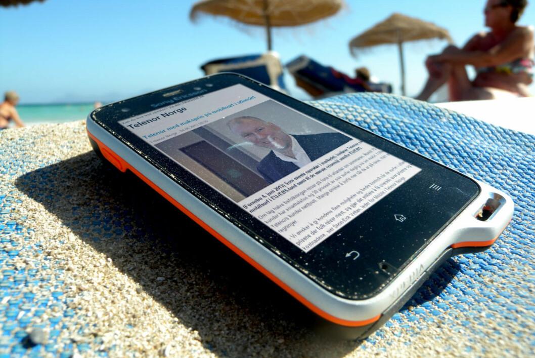 """<strong>""""ENKLERE"""":</strong> Telenor vil at du skal sette tak på surfepriser, men det er ikke nødvendigvis noe som lønner seg. Foto: Ole Petter Baugerød Stokke"""
