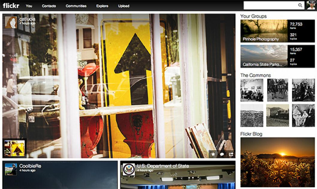 Flickr fornyes og får 1 TB lagringsplass