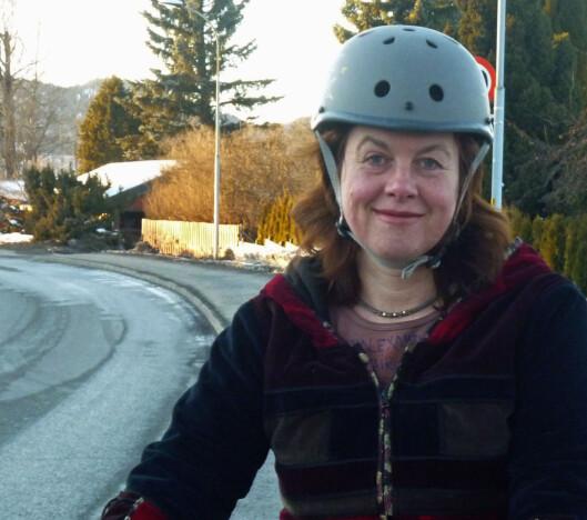 Hulda Tronstad, informasjonssjef i Syklistenes Landsforening. Foto: SYKLISTENES LANDSFORENING