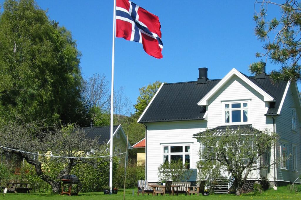 Mai er flaggmåneden foran noen. Foto: Arkivfoto