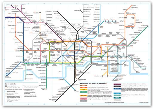 t bane kart london London: Lønner det seg å gå, eller ta T banen?   DinSide t bane kart london