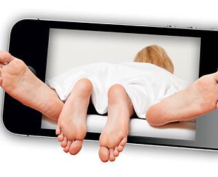 Gigaregning etter sextelefon-maraton