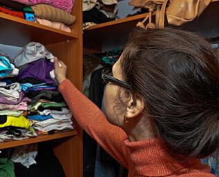 Det billigste garderobeskapet