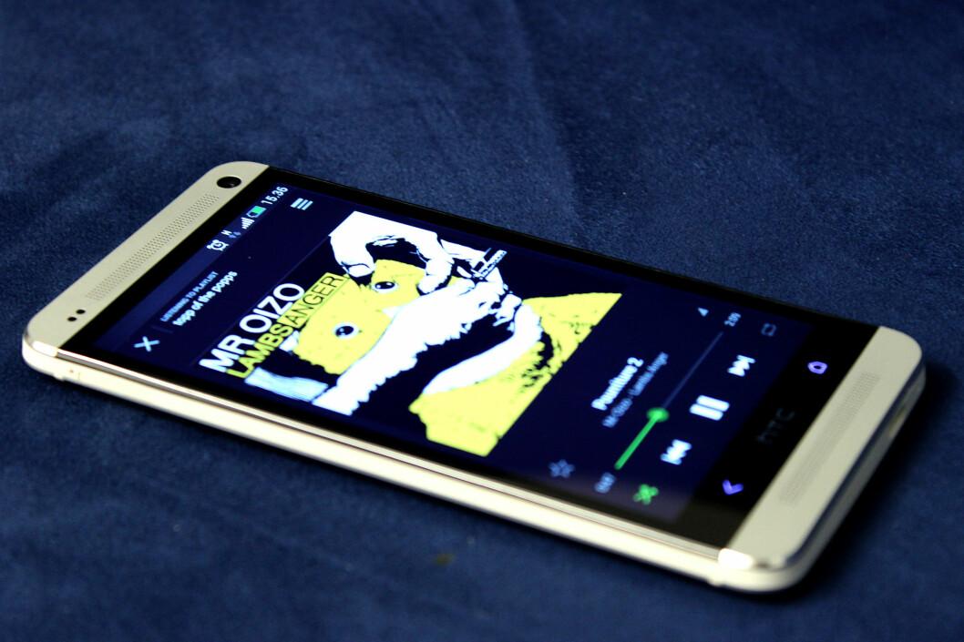 <strong>FLOTT MOBIL:</strong> HTC One.  Foto: Ole Petter Baugerød Stokke