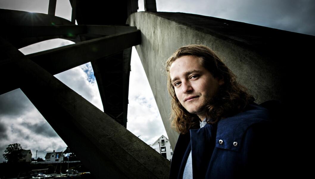 FILMAKTUELL: Benjamin Helstad spiller en av hovedrollene i filmen «Cave» som har Norges-premiere 2. september. Foto: Nina Hansen / Dagbladet