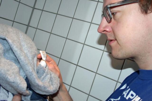 2d5a0370 En god del av henvendelsene til Lilleborgs ekspert på klesvask gjelder  vaskesymbolene. Foto: Berit