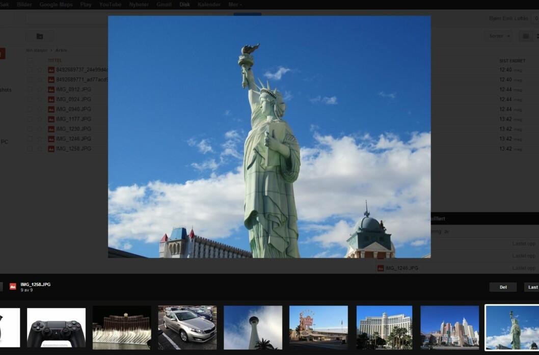 Omsider har Google Drive fått en fullverdig bildeviser som gjør det lett å bla i samlingen din.