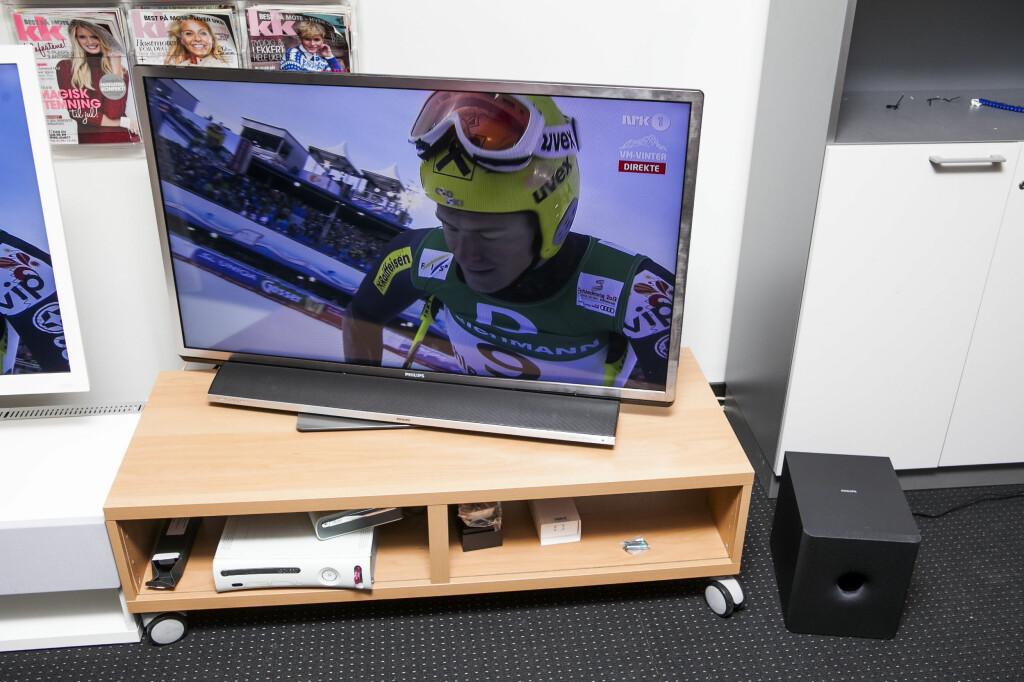 TVen imponerer, men lydplanken burde hatt litt mer krutt. Foto: Per Ervland