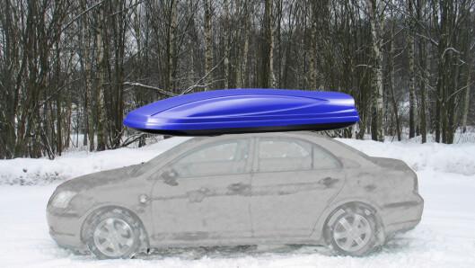 <strong>PASS PÅ:</strong> Skiboksen bør ikke pakkes fullere enn den takler.  Foto: Per Ervland