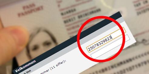 Norske personnummer skal fornyes